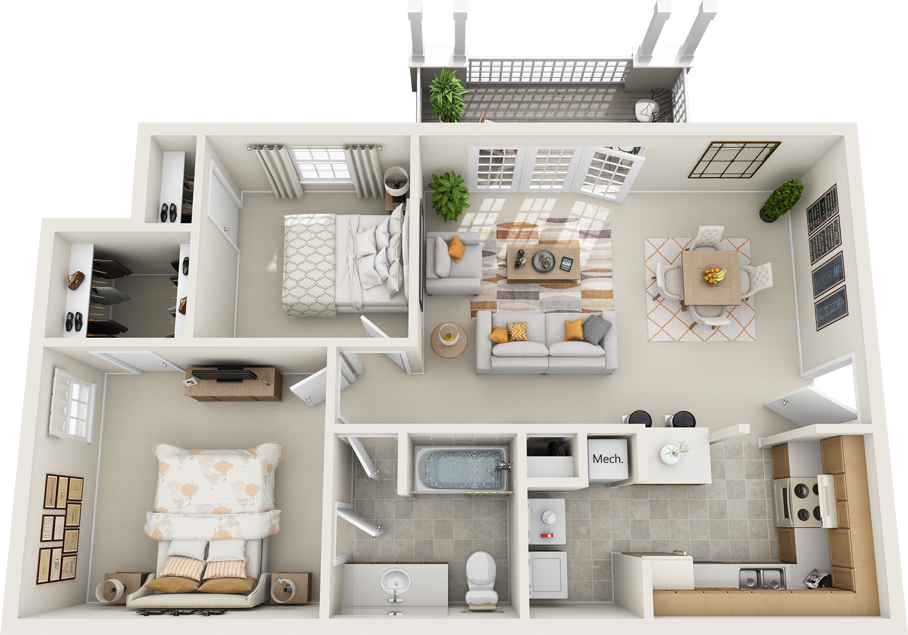 Floor Plans Northfield Commons Apartments Murfreesboro Tennessee Apartments