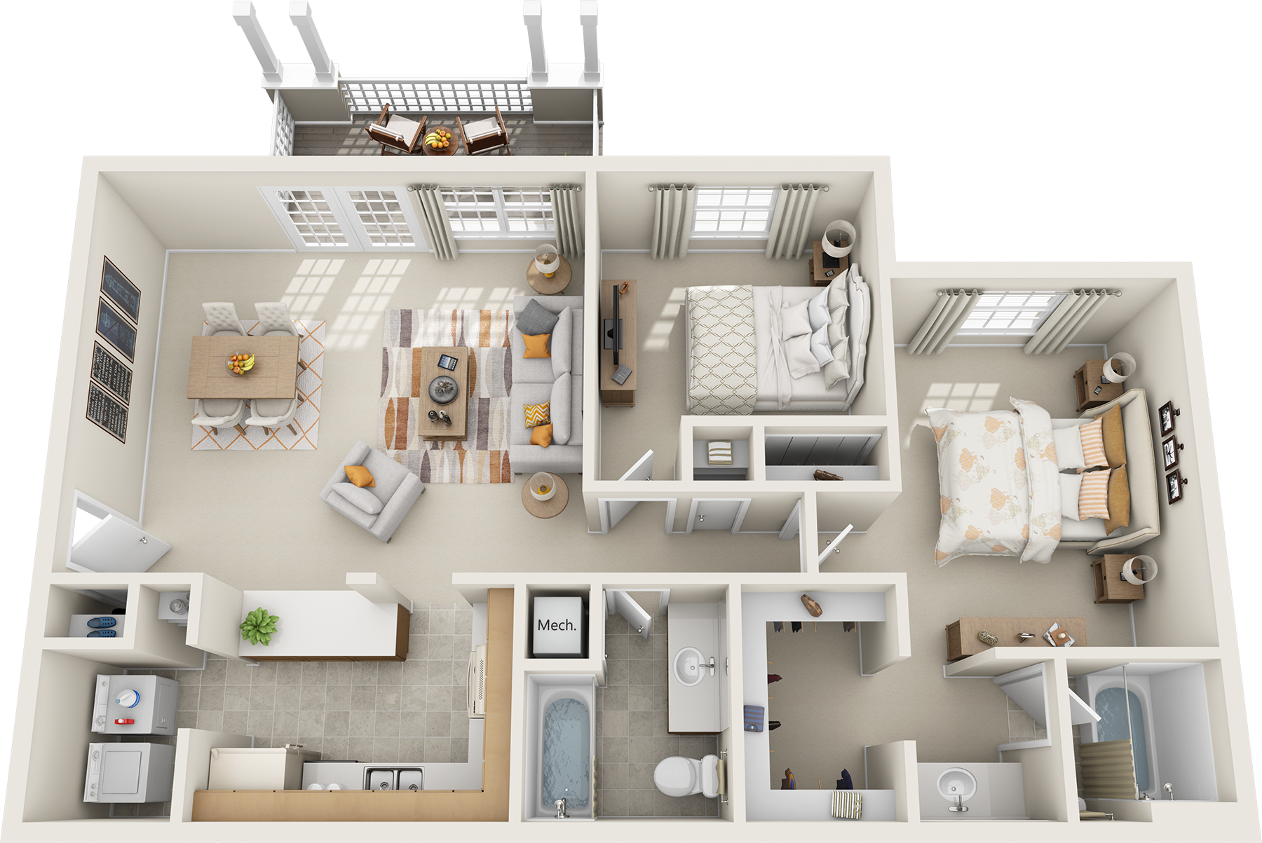 Large 1 bedroom apartment floor plans best free home for Large apartment floor plans