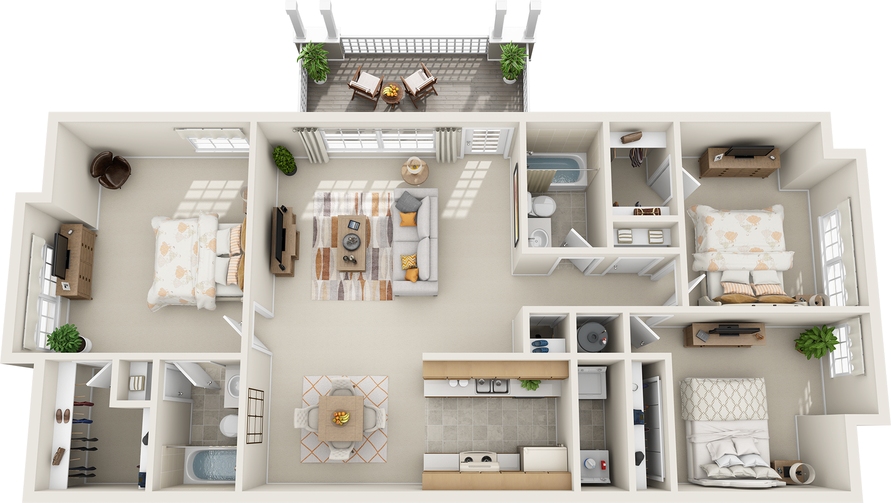 Extraordinary 90 3 Bedroom Floor Plans 3d Decorating Design Of Insight Of 3 Bedroom 3d Floor
